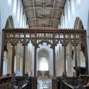The chancel screen