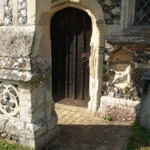 The south priest's doorway