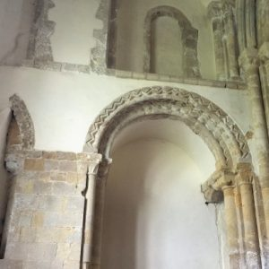 Arches between north chapel and former north transept