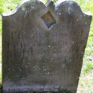 The other side of the Noller headstone