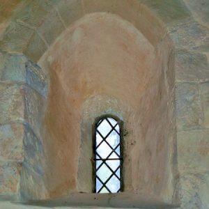 12th century Norman window