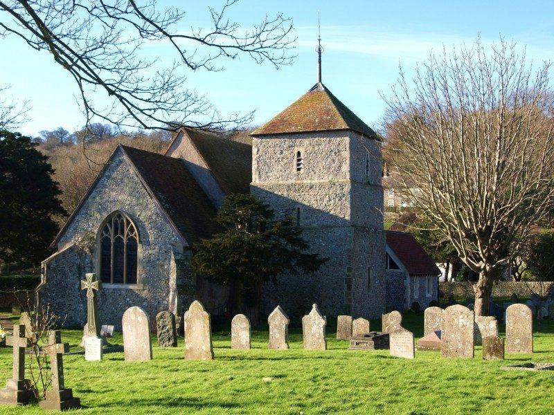 East Dean church
