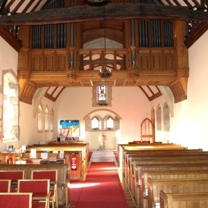 The nave at St Simon and St Jude