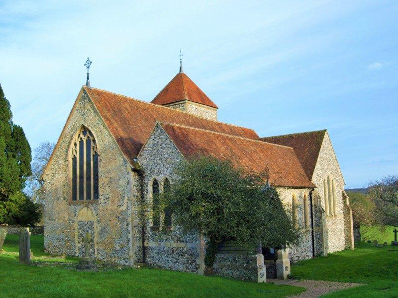Godmersham church