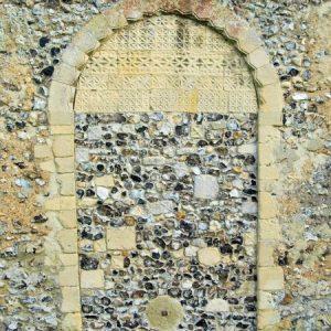 The blocked west doorway