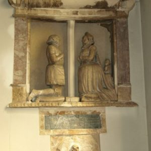 John and Elizabeth Cheyney monument