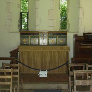 Two 14th century lancet windows
