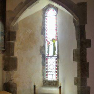 south chancel lancet window