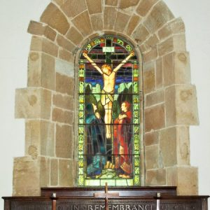 the east window - The Crucifixion