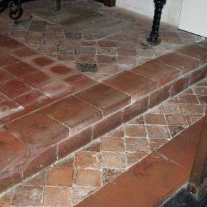 13th century encaustic floor tiles