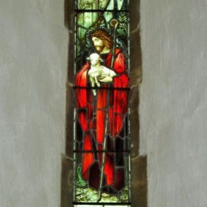 south chancel lancet - Madonna and Child
