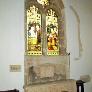 two light north chancel window