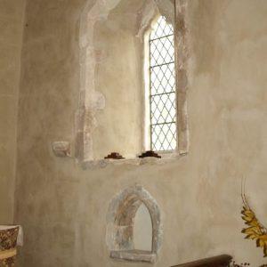 14th century south chancel window