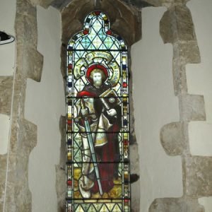 The north chapel east window