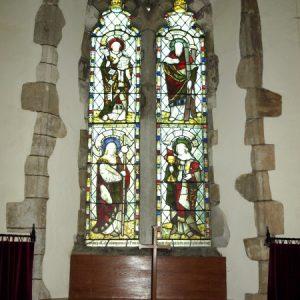 The north chapel north window