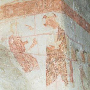 God marking Cain's forehead