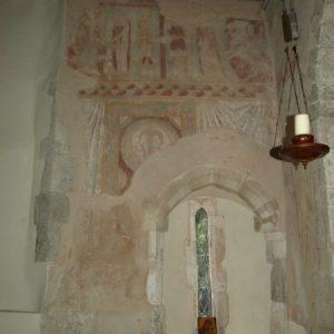 chancel wall paintings