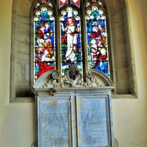 The chapel east window