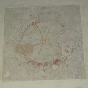 13th century consecration cross