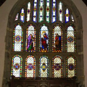 The 15th century perpendicular east window