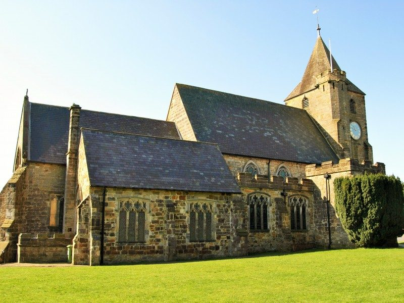 Ticehurst church