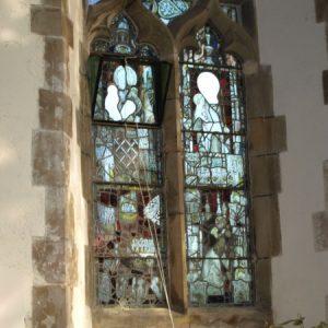 North chancel window