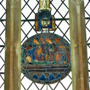 Very early stained glass
