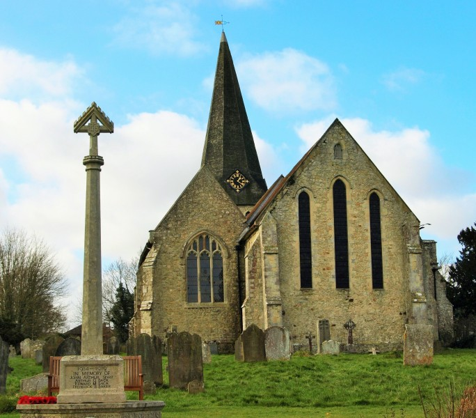 Woodchurch church