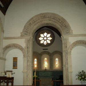 The nave looking towards the chancel