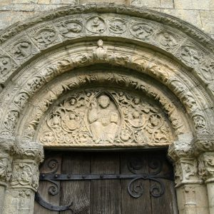 The south doorway tympanum
