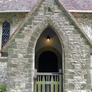 The south porch