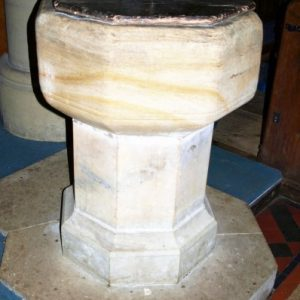modern font with 17th century cover