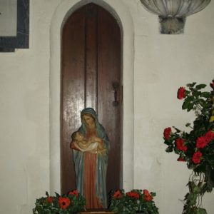 The doorway to the Rood stairs