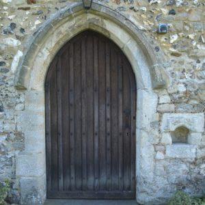 The main west doorway