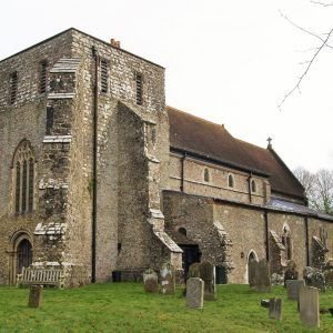Brabourne church