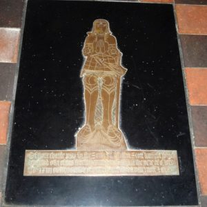 The younger Sir William brass