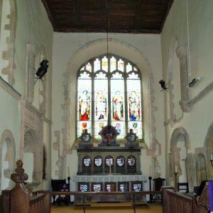 The 12th century chancel