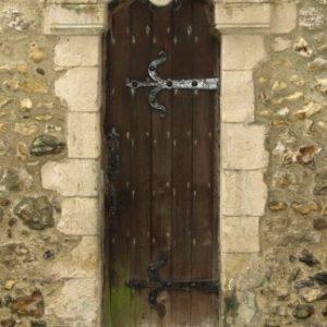 The Norman priest's doorway