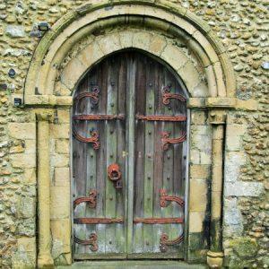 12th century west doorway