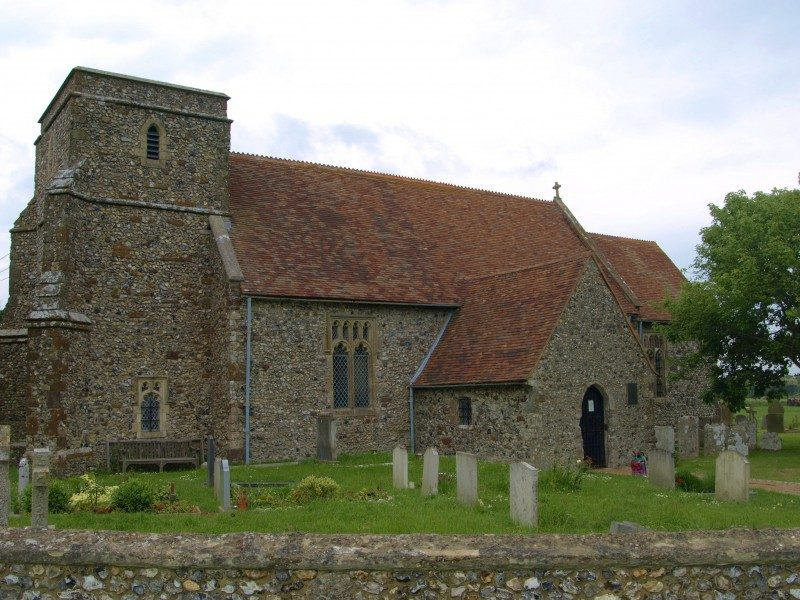 Capel-le-Ferne church