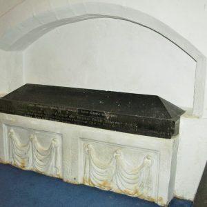 South chancel tomb recess