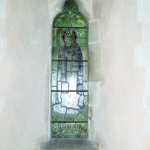 13th century lancet in chancel