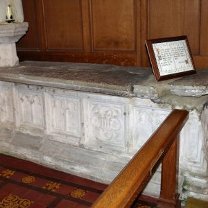 An Easter tomb in the chancel