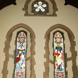 The west window of the present nave