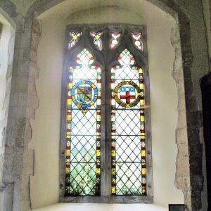 A 2 light window in the chancel