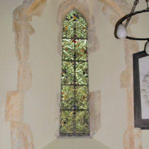 A 13th century lancet window