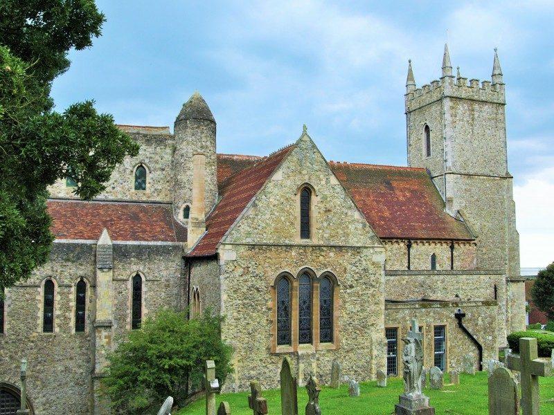 Hythe church