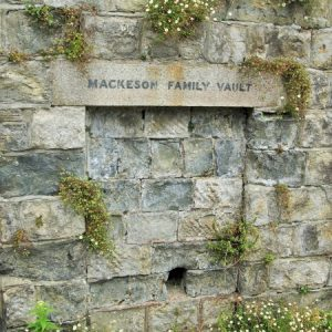 Mackeson family vault entrance