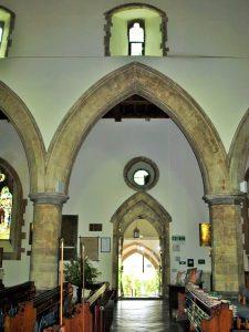 The 14th century porch