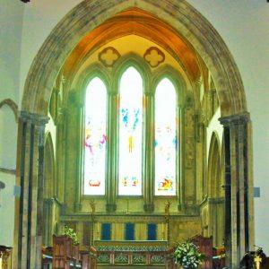 Chancel and sanctuary